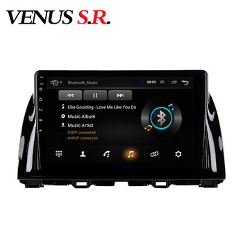 VenusSR Android 8.1 2.5D car dvd For Mazda CX5 CX-5 Radio 2013-2016 multimedia GPS Radio stereo gps navigation image