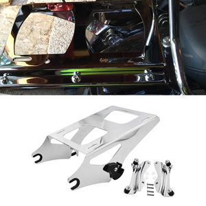 Image 1 - For Harley Touring 2014 2019 Chrome Two Up Tour Pack Luggage Rack Detachable & Docking Hardware Kit Fit Road King