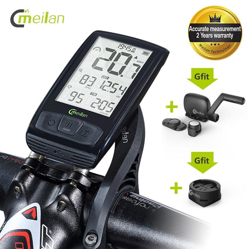 Meilan M4 Bike Computer Wireless Cycle Speed Meter Speed & Cadence Sensor Bike Speedometer Wireless Bicycle Odometer Computer|Bicycle Computer| |  - title=