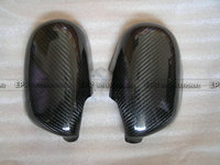 For Nissan Skyline R33 GTR GTST Car Styling Glossy Fibre Exterior Accessories Racing Trim Carbon Fiber Side Mirror Cover