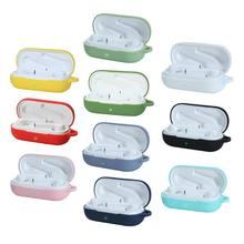 Étui pour écouteurs bluetooth huawei flypods 3i, en Silicone avec crochet métallique, antichoc, protection de la peau