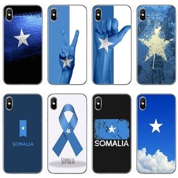 Somalia bandera nacional bandera para iPhone 11 pro XR X XS X Max 8 7 6 6s plus SE 5S 5c funda para iPod Touch 5 6