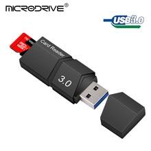 Alta velocidade usb 3.0 micro sd leitor de cartão micro sd mini leitor de cartão tf qualidade superior usb3.0 leitor de cartão de memória