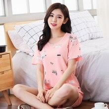 Milk silk Women Sleepwear summer Female Pajamas Sets Thin laides Suit short Sleeve Pyjamas Women Ventilation Home Clothes