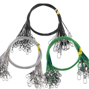 20 pcs Steel Wire Durable Fish