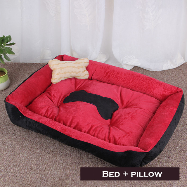 Bone Pet Bed Warm Pet Products For Small Medium Large Dog Soft Pet Bed 5