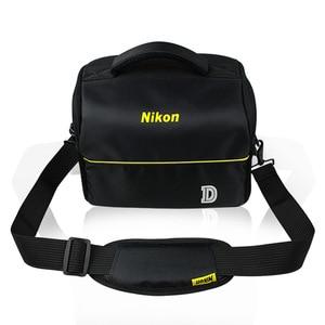 Image 2 - מתאים לניקון D7000 D90 SLR מצלמה תיק כתף נייד תיק מצלמה תרמיל תיק מצלמה תרמיל
