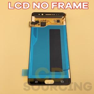 Image 3 - Pantalla LCD AMOLED de 5,7 pulgadas para móvil, montaje de digitalizador con pantalla táctil N935F, N935F/DS, para Samsung Note 7, N930F