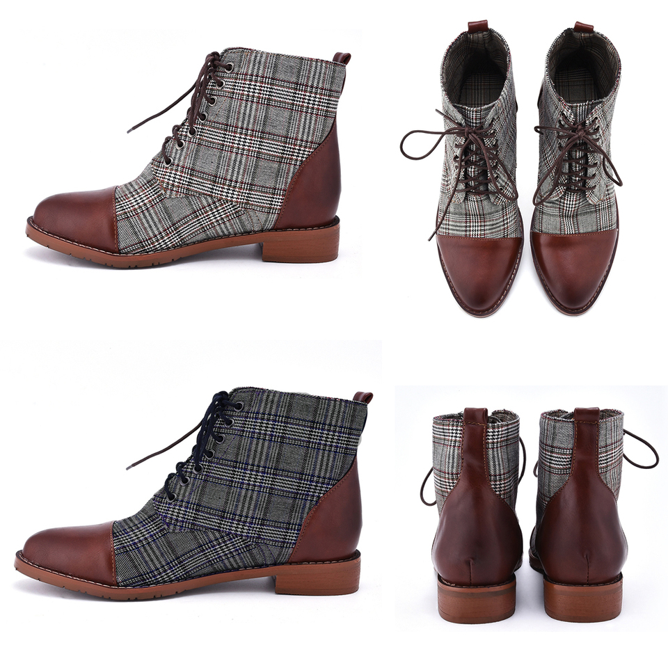 OQC Men's Formal Boots British Style