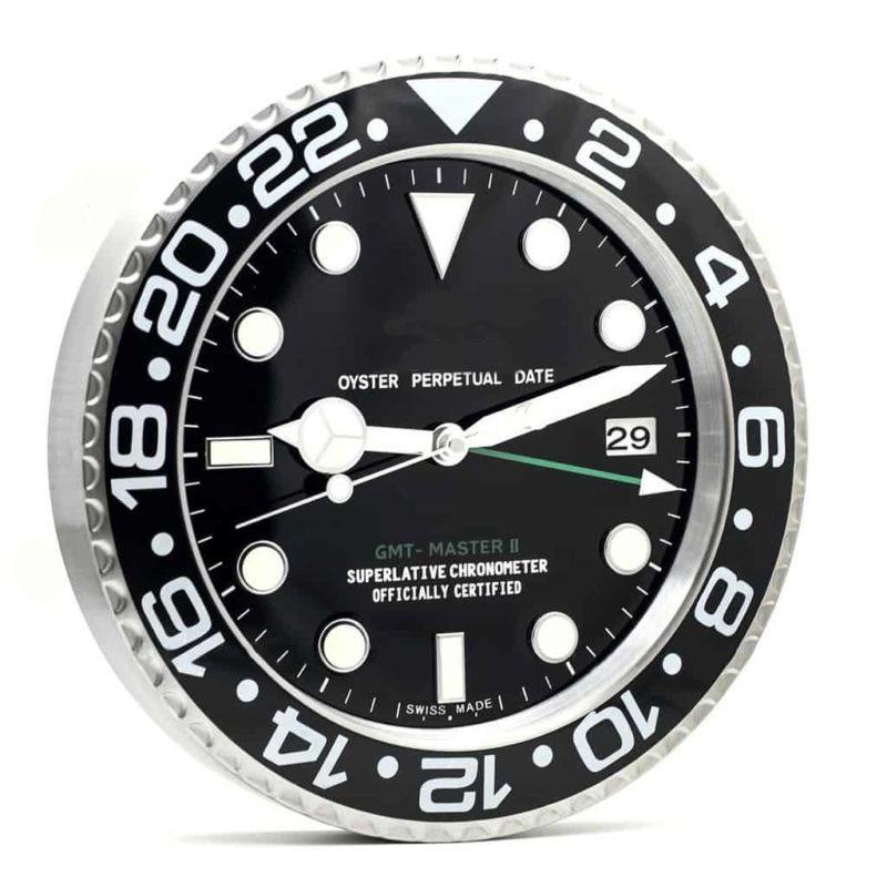 Wall Watch Single Side Clock Home Decor Luxury Metal Modern Design Wall Clock Art Watch Clock With Correspond Logo
