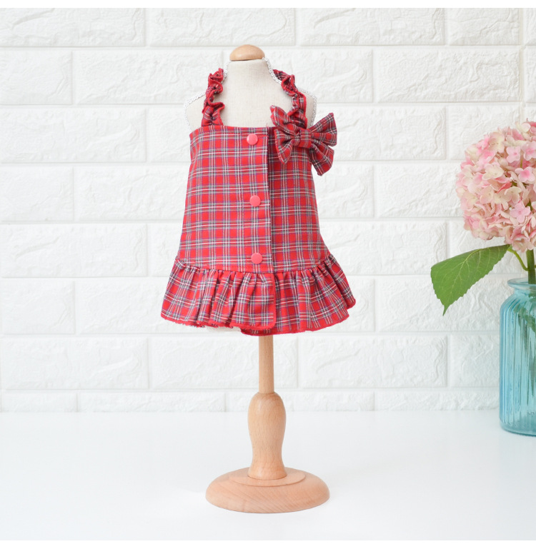 Spring-and-Summer-Dog-Clothes-with-Big-Bow-Decor-Yellow-Red-Colors-Xs-xl-Sizes-Dress(2)