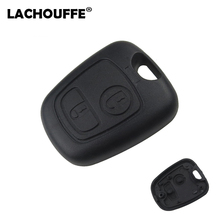 For Peugeot 107 206 207 306 307 407 Citroen Key Shell Front Car Key Fob Replacement 2 Button Remote Blank Cover Case 2 button auto key blank fob shell replacement case cover for peugeot 107 207 307 407 106 206 306 406 citroen c1 c2 c3 c4 xsara