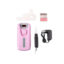 30000 RPM Portable Charging Nail Drill Machine Professional Rechargeable Manicure Pedicure Kit Polishing Electric Nail Art Tool 30 000 rpm dental lab portable micromotor brushless grinding machine electric motor for pedicure nail polishing labortory