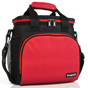 InsigniaX Fitness 600D Oxford Polyester Thermal Cooler Box Picnic BPA free Food Grade Leakproof Insulated Lunch Bag