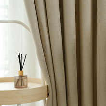 CDIY Modern Linen Blackout Curtains For Bedroom  Cloth Curtain for  Living room Thick Window Curtain For Kitchen Drapes Blinds floral curtain for living room print voile for window bedroom linen curtain blackout drapes kitchen treatment pastoral x513 30