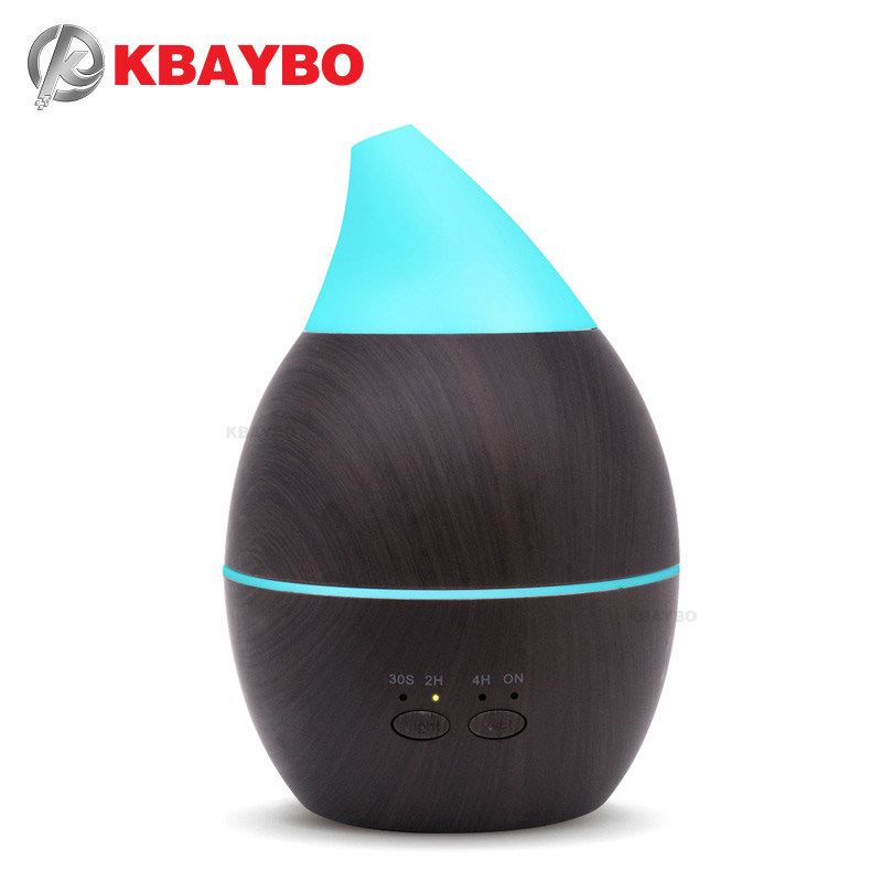2019 New Aromatherapy Air Humidifier Aroma Essential Oil Diffuser Ultrasonic Mist Maker Electric Aroma Diffuser Fogger Home