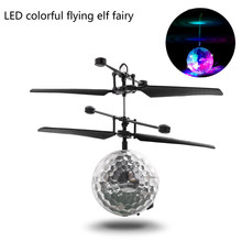 Rc Toy Rc Flying Ball, Rc Drone Helicopter Ball Built in Shinning Led Lighting For Kids Teenagers Colorful Flyings For|RC Helicopters| |  - AliExpress