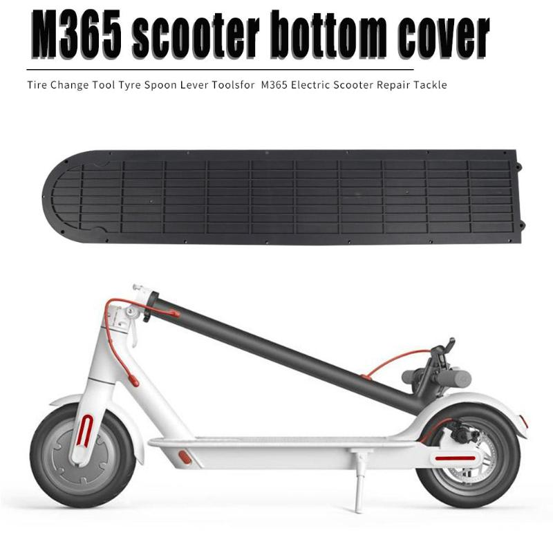 Plastic Battery Compartment Cover Bottom Plate For XIAOMI MIJIA M365 Part Electric Scooter Waterproof Anti-theft