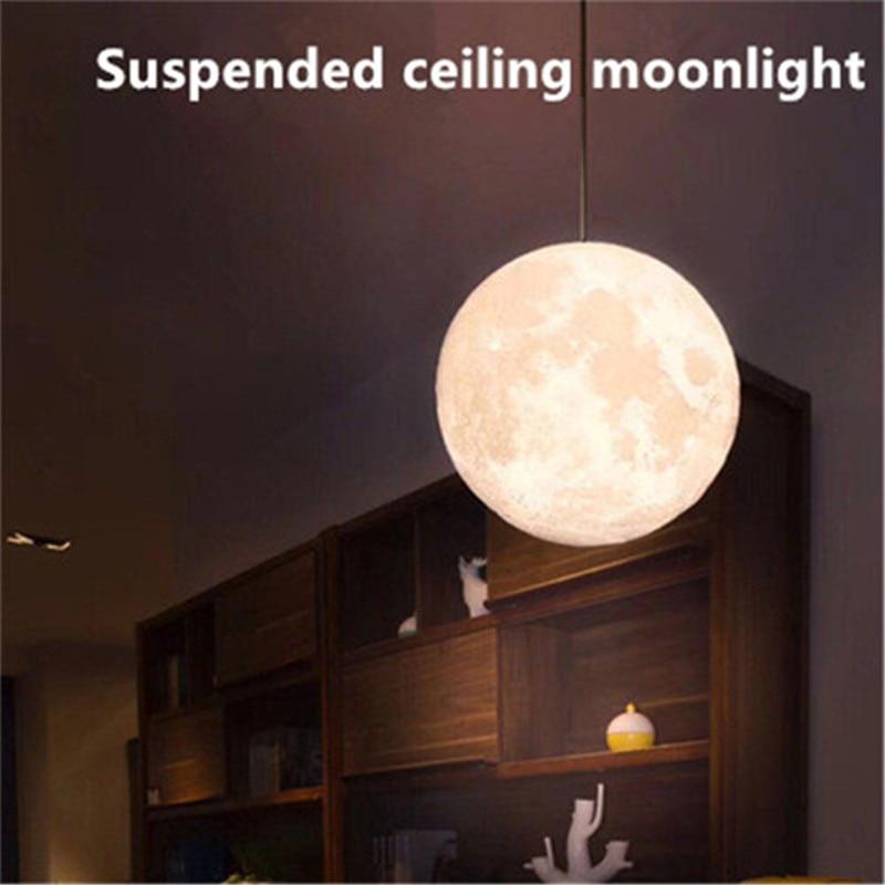 Moon Lamp Living Room Chandelier Light