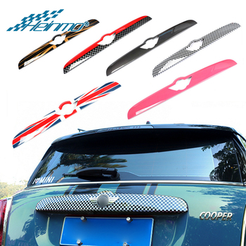 For MINI Cooper Accessories Car Trunk Tailgate Door Handle Strip Protective Cover Sticker for MINI Countryman F60 for MINI F60