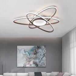 Kreatywny nowoczesny żyrandol oświetlenie salonu lustre led sypialnia jadalnia plafonnier lampa led do montażu na powierzchni oświetlenie ledowe żyrandol
