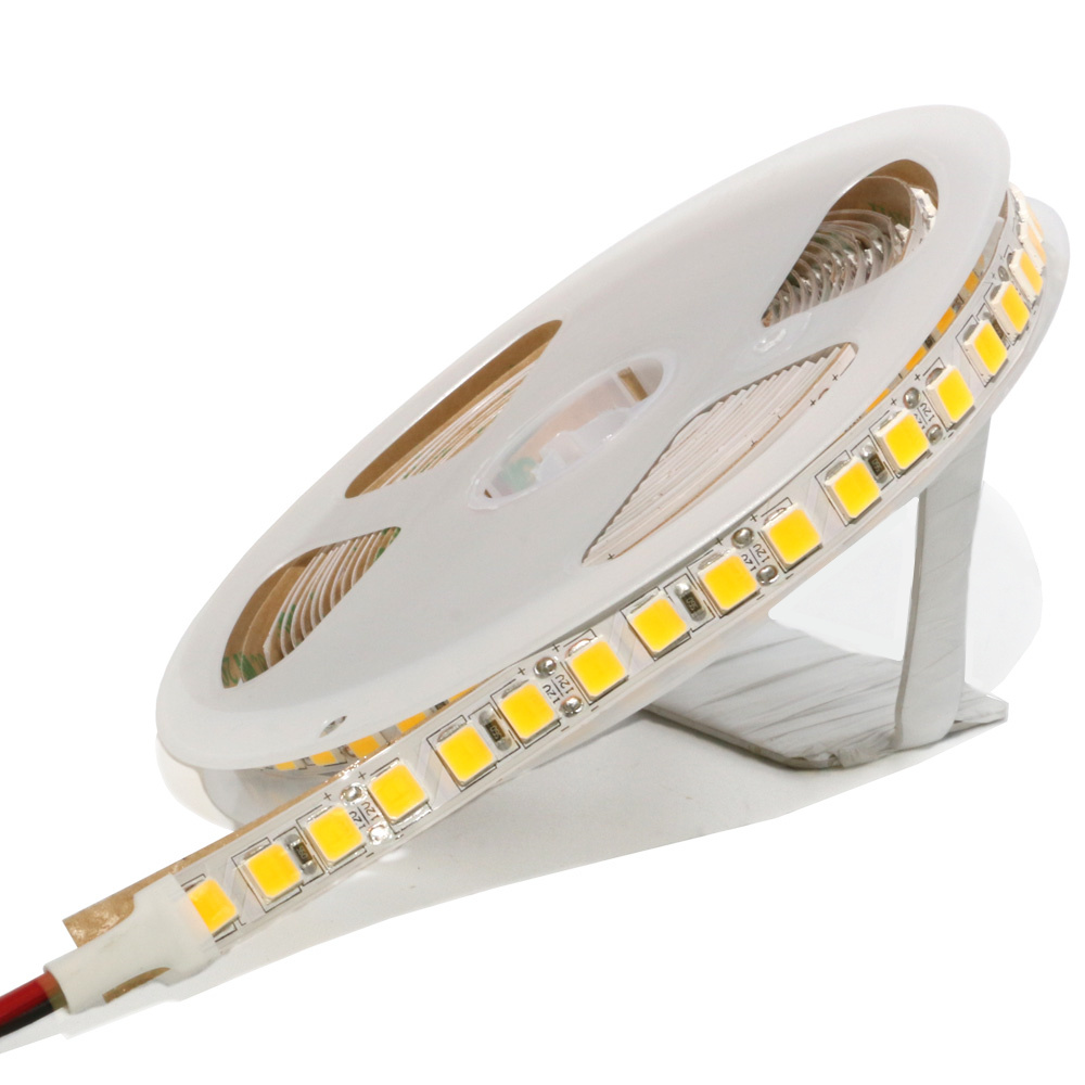 Waterproof LED Strip Light 5054 SMD 300/600 Leds Flexible LED Tape DC 12V For Indoor Kitchen Warm White Brighter Than 5630 5050