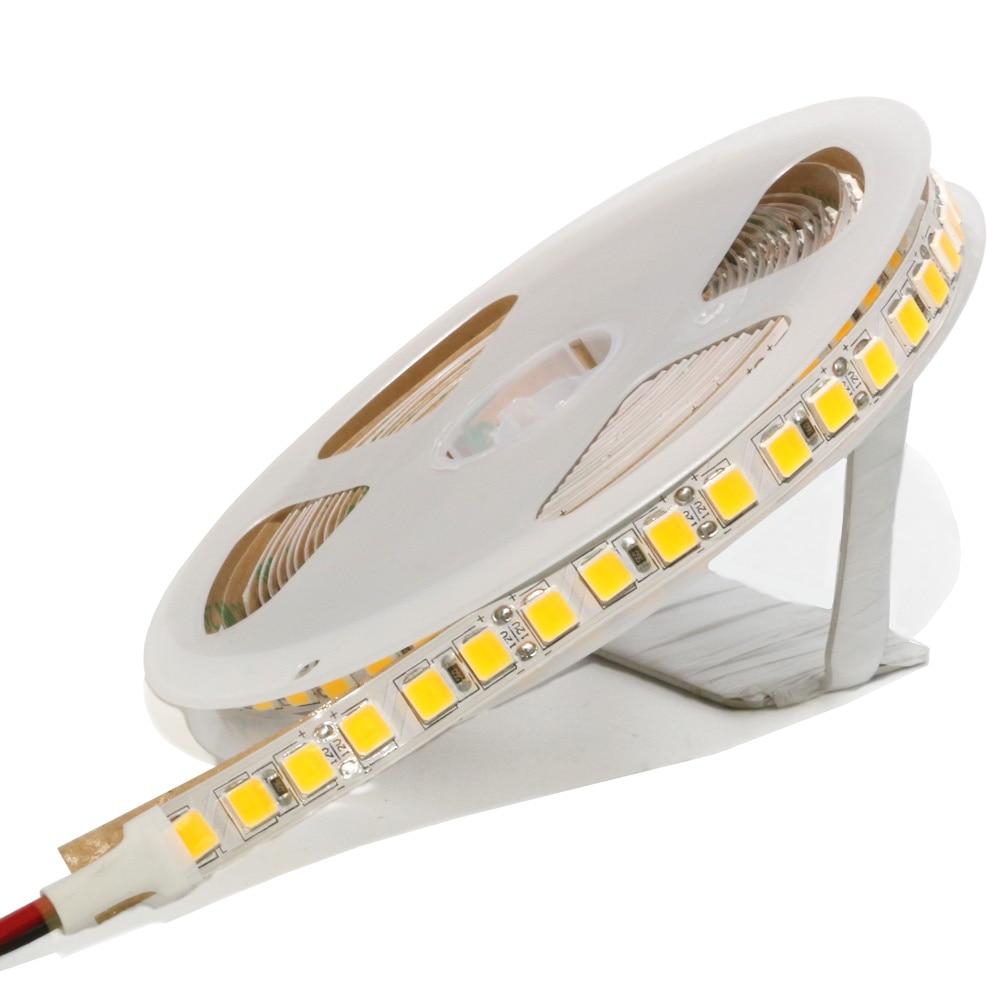 Waterproof LED Strip Light 5054 SMD 300/600 Leds Flexible LED Tape DC 12V For Indoor Kitchen Warm White Brighter Than 5630 5050