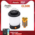 Fenix CL30R Camping light Max 650 Lumens Micro-USB rechargeable Lantern with 3 PCS 2600mAh 18650 Li-ion Battery