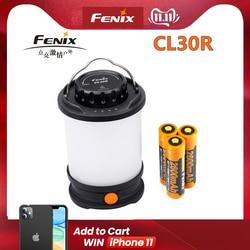 Fenix CL30R Camping light Max 650 Lumens Micro-USB rechargeable Lantern with 3 PCS 2600mAh 18650 Li-ion Battery