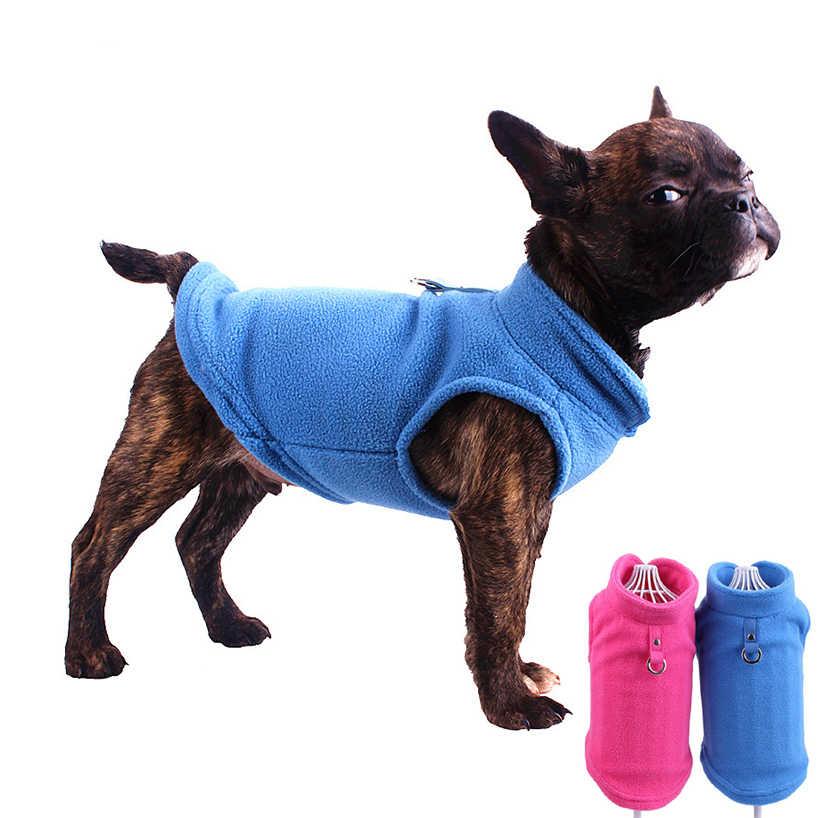 LyHoma Chaleco de Perro peque/ño Forro Polar Forrado Abrigo de Invierno c/álido Chaqueta de Cachorro con Capucha a Prueba de Viento Mascota Chihuahua Sudadera Ropa de Perrito Prendas de Vestir Azul
