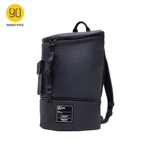 Image 1 - Nineygo 90FUN Fashion Chic plecak wodoodporny Bagpack mężczyźni kobiety tornister zakupy plecak na co dzień torba na laptopa duża pojemność