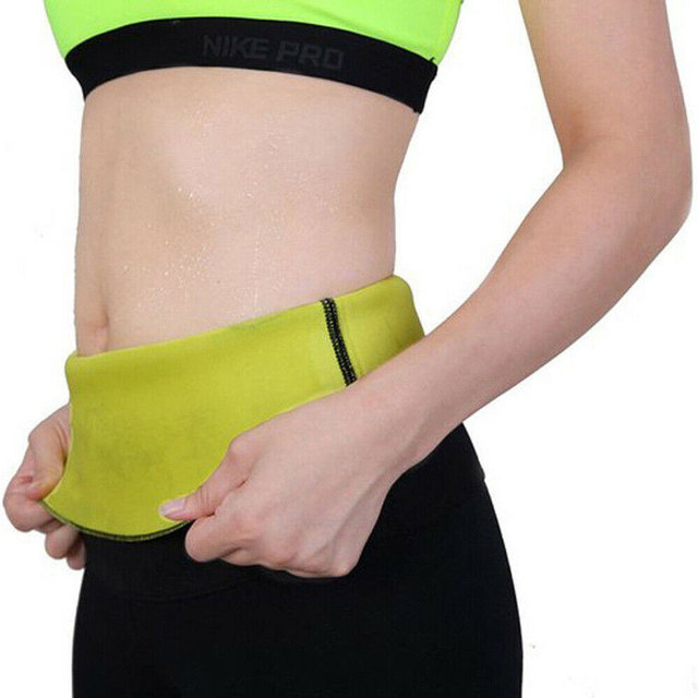 New Sport Waist Trainer Weight Loss for Women Sweat Thermo Wrap Body Shaper Belt Gym 2