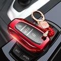 ТПУ Передняя и задняя всесторонняя защита чехол для ключа автомобиля Fob Удаленная Крышка для PEUGEOT 2008/301/307/3008/308/407/408/4008/508