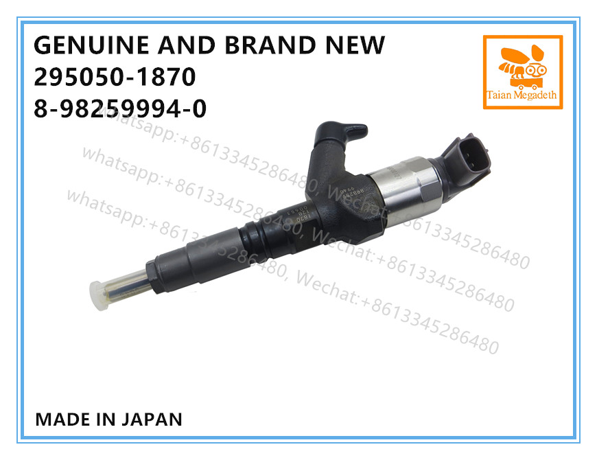 Image 3 - GENUINE AND BRAND NEW DIESEL COMMON RAIL FUEL INJECTOR 295050 1870, 8982599940 FOR ISUZU NLR NMR 4JH1 ENGINEFuel Inject. Controls & Parts   -