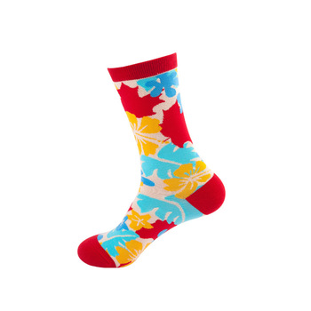 Women Funny Autumn Winter Cotton Socks Happy Personality