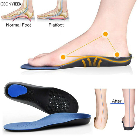 Professional Orthotic insoles EVA Adult Flat Foot Arch Support Orthopedic Insoles Shoe Cushion Insert feet Health Care foot Tool Pakistan