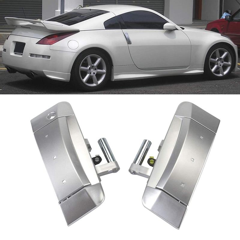 Exterior Door Handle Kit 80607 Cd41e 80606 Cd01e Fits For Nissan 350z 2003 2004 2005 2006 2007 2008 2009 Driver And Pass Exterior Door Handles Aliexpress