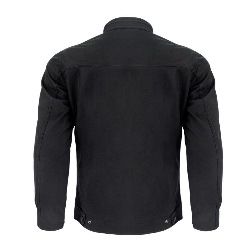 Hommes Moto Veste Résistant À L'eau Respirant Chaud Universel Manteau avec Équipement De Protection Pour L'équitation et le Port Quotidien JK 55 - 3