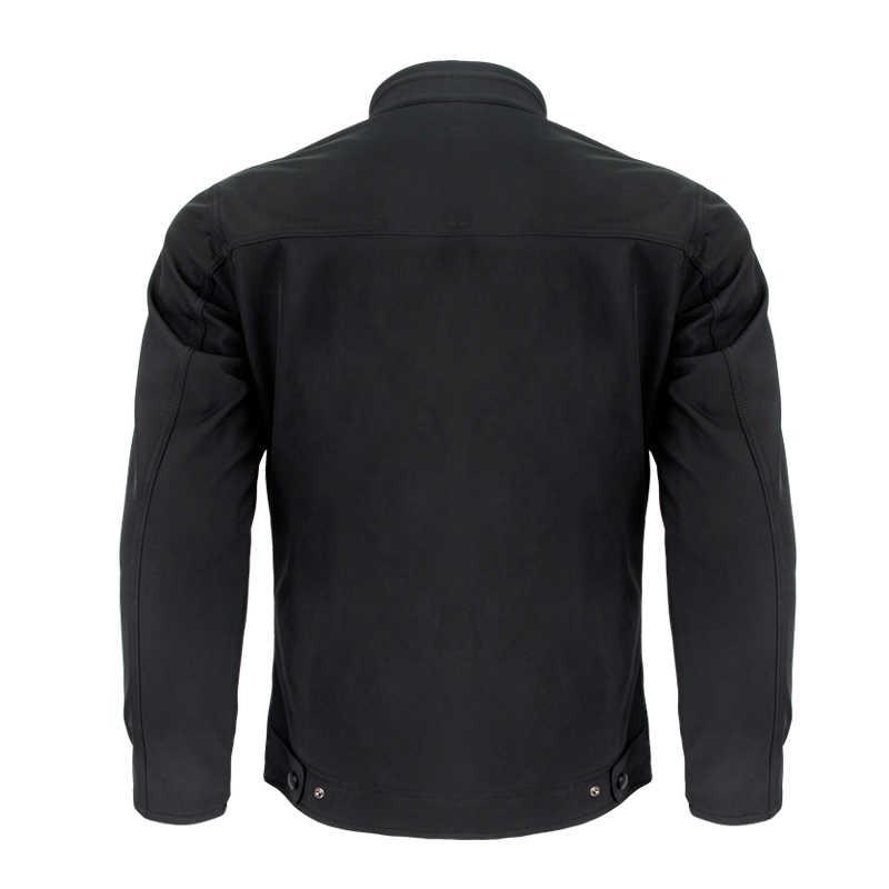 Rivestimento degli uomini Del Motociclo Water Resistant Traspirante Caldo Universale Cappotto con Equipaggiamento Protettivo Per La Guida e Indossare Ogni Giorno JK-55