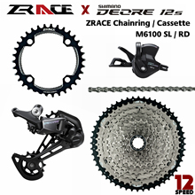 1x12-Speed Chain. Cassette Groupset DEORE RD-M6100-12-SGS ZRACE 5kit