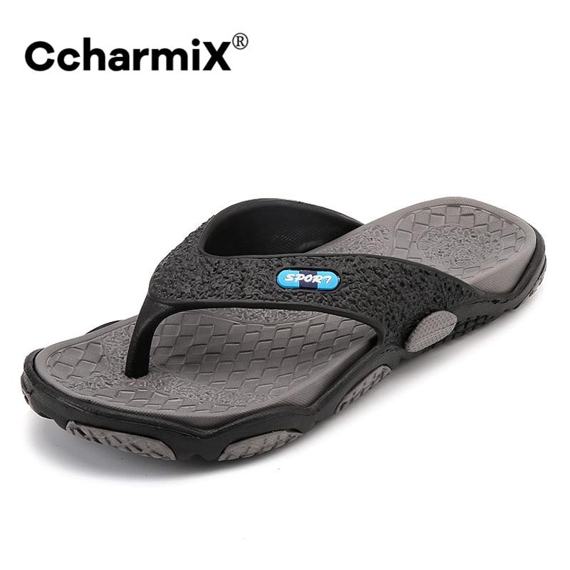 Summer Men/'s Slippers Outdoor Soft Rubber Casual Shoes Beach Flip flops