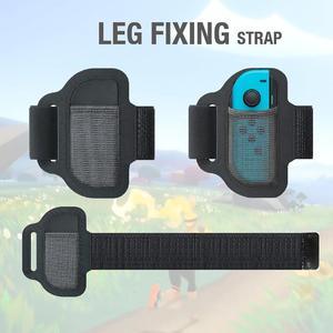 Image 5 - רגל תיקון רצועת ספורט להקה + החלקה טבעת קון כידון Fit עבור Nintend מתג