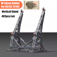 MOC Starwars Display Vertical Stand Ultimate Collector Falcon Bracket Fit Legoings Star Wars 05132 75192 Building Block Bricks lepin 05132 star destroyer millennium falcon compatible with legoinglys 75192 bricks model building blocks
