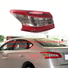 For NISSAN SYLPHY PULSAR SENTRA B17 2012 2013 2014 2015 Rear Brake Light tail light Tail Stop Lamp taillights assembly