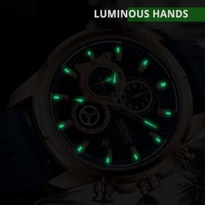 Image 2 - Relogio Masculino MEGIR New Sport Chronograph Silicone Mens Watches Top Brand Luxury Quartz Clock Waterproof Big Dial Watch Men