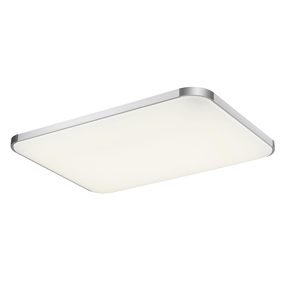 220V 96W Ceiling Lamp Warm White I6 Thick Version Aluminum + Chrome Plated No IR Or UV Radiation IP20 Modern LED Ceiling Light