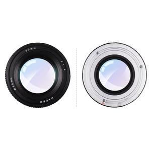 Image 2 - 50mm f/1.4 מצלמה עדשת USM גדול צמצם סטנדרטי האנשה פוקוס מצלמה עדשת פיזור נמוך עבור Canon 100D 200D 350D