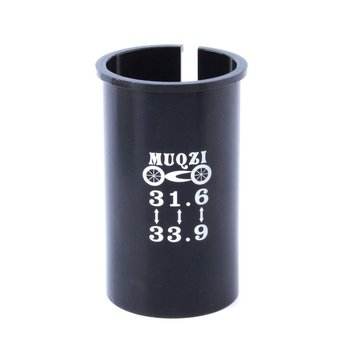 Mountain Bike Seatpost Seat Tube Reducer Sleeve 31.6 Turn 33.9 Bicycle Accessories image