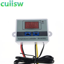 12V/ 24V/ 110V /220V W3001 Digital LED Temperature Controller 10A Thermostat Control Switch probe XH-W3001(China)