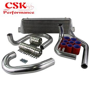 цена на High Performance Upgrade FMIC Turbo Intercooler + Piping Kit Fits For 98-05 VW J ETTA Golf GT I 1.8T